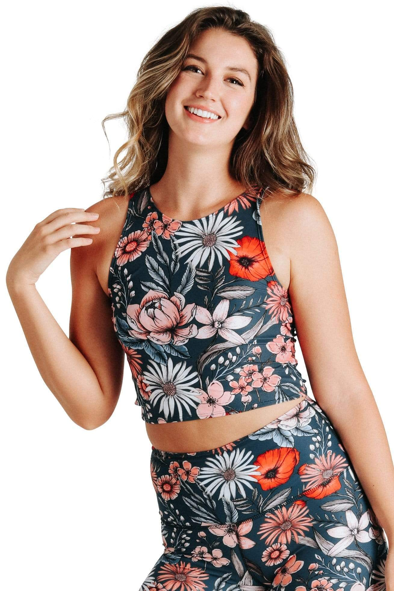 Yoga Democracy Tops Reversible Knot Top in Spring Fling