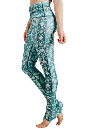 Mint To Be Printed Yoga Leggings