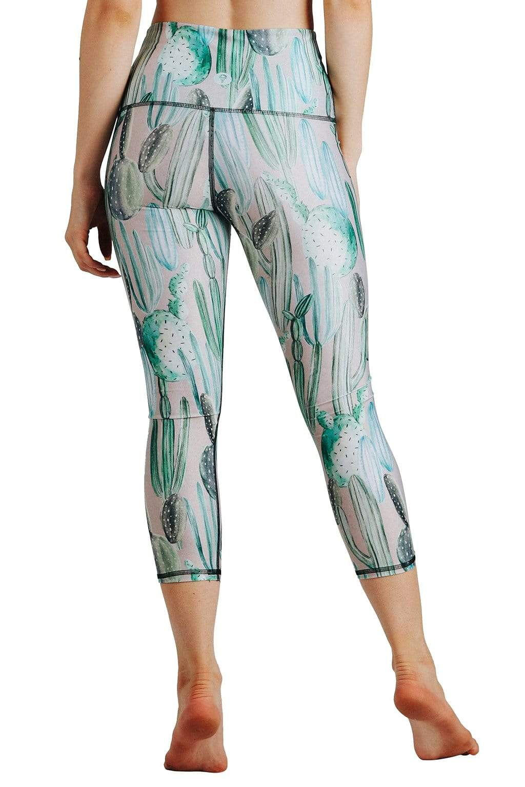 Yoga Democracy Leggings Don't Be a Prick Printed Yoga Crops