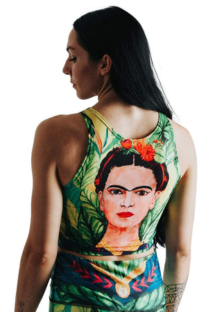 Yoga Democracy Tops Reversible Knot Top in Frida