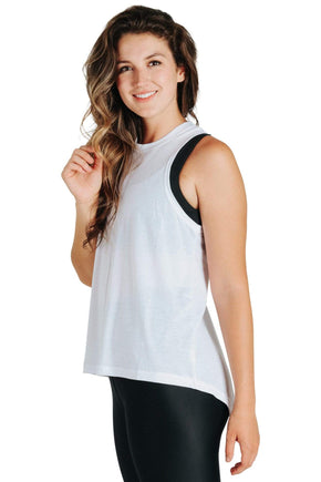 Yoga Democracy Athleisure Why Knot Top - Available in 2 Colors