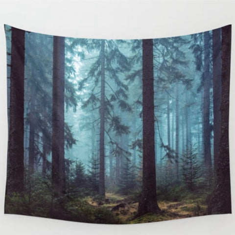 Forest Tree Tapestry