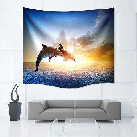 dolphins Tapestry