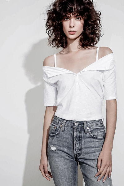 HARLOW OFF THE SHOULDER TOP