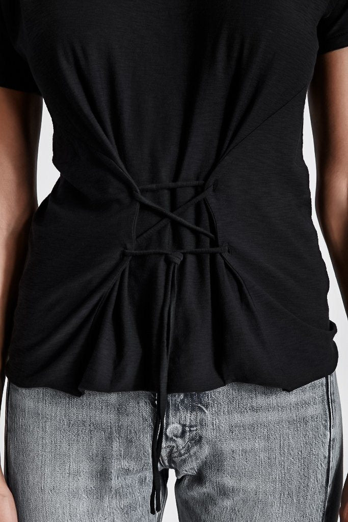 IDA PIMA COTTON CORSET T-SHIRT