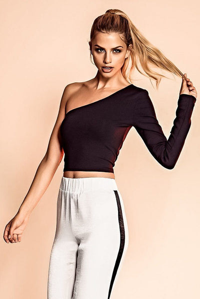 NEWTON SINGLE SLEEVE CROP