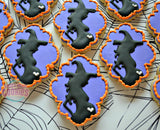 Halloween Baby Shower (12 cookies)