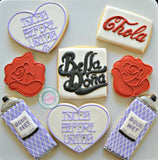 Chola Themed cookies (24 cookies)