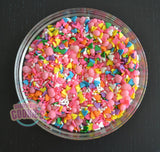Colorful Hearts- Sprinkle Mix
