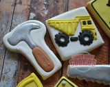 Construction Themed Birthday set (24 cookies)