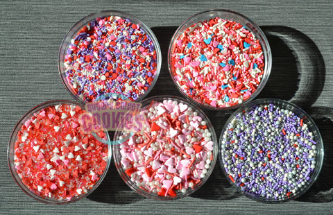 Valentines Day sampler- Sprinkle Mix