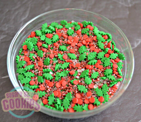 Holly Jolly- Sprinkle Mix