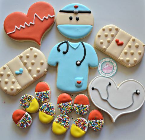 Dr. Themed Cookies (24 cookies)
