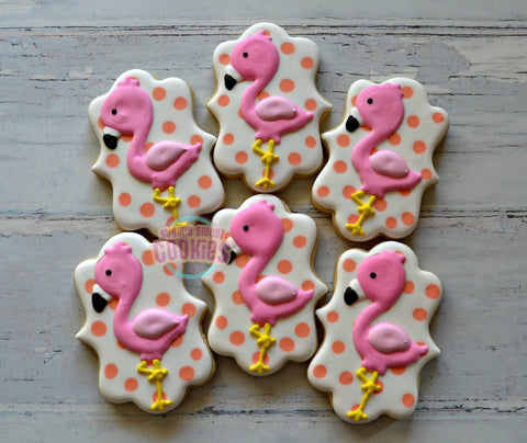 Flamingo (12 cookies)