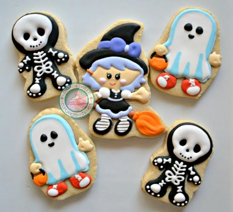 Halloween Kids (12 cookies)