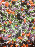 Ghouls Night- Halloween Sprinkle Mix  (4 ounces)
