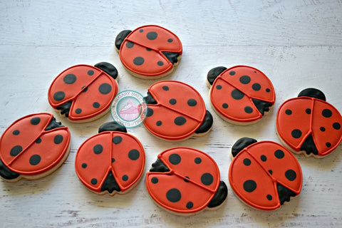 Little Ladybugs (12 cookies)
