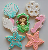 Mermaid Set (24 cookies)