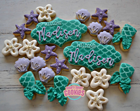 Halloween Themed Baby Shower Cookies.Baby Shower Themed Sugarysweetcookies