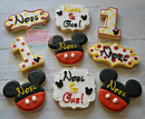Its a Mickey Birthday! (12cookies)
