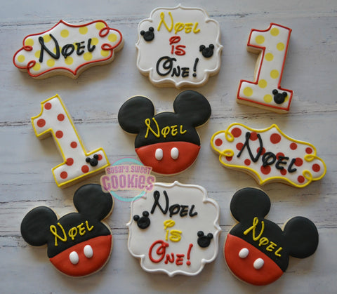 Its a Mickey Birthday! (24 cookies)