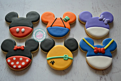 Mouse Clubhouse (24 cookies)