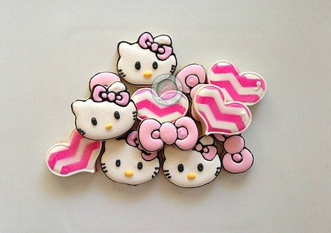 Mini Kitty set (36 cookies)