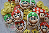 Mini Mario Bros. (48 cookies)