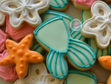 Mermaid Mini Cookies (48 cookies)