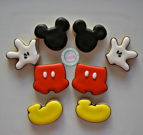 Build your own (mini) Mickey! (36 cookies)
