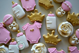 Mini Princess Baby (48 cookies)
