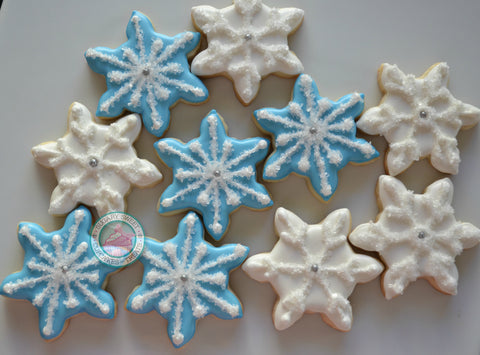 Mini Snowflakes (24 cookies)