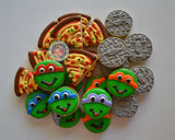 Mini Turtle Power! (48 cookies)