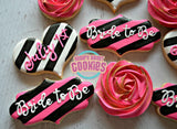 Chic Bridal Shower (24 cookies)