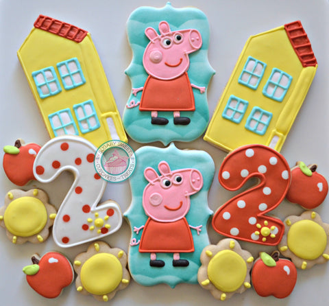 It's a Peppa Birthday! (24 mixed cookies)