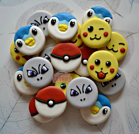 Poke Faces (36 cookies)