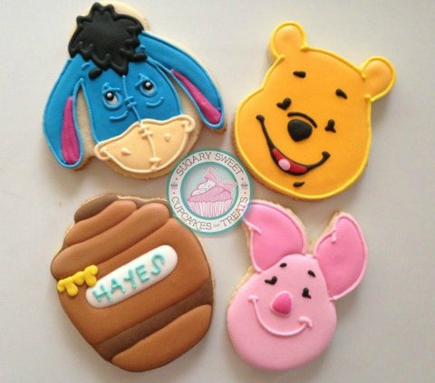 Pooh and Friends (12 cookies)