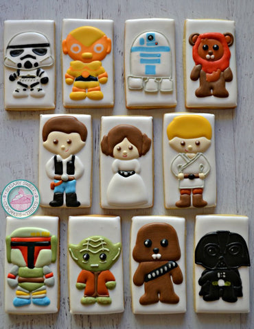 Star Wars Themed (12 cookies)