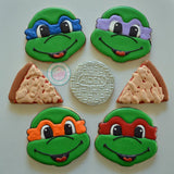 Ninja Turtles! (24 cookies)