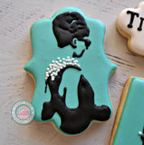 Breakfast at Tiffany's inspired (24 cookies)