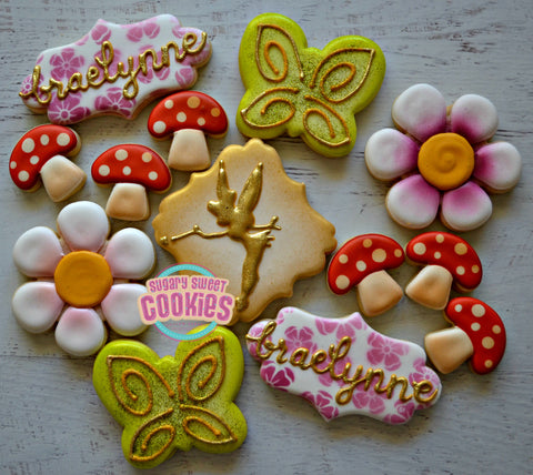 Woodland Tinkerbell (24 cookies)
