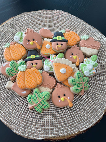 Thanksgiving Minis #2 (24 cookies)