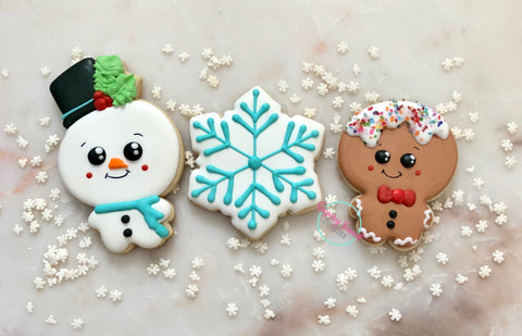 Beginners cookie decorating class. Saturday, December 7th; 3-5pm