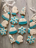 Winter minis! (4 mini cookies,1 sleeve)