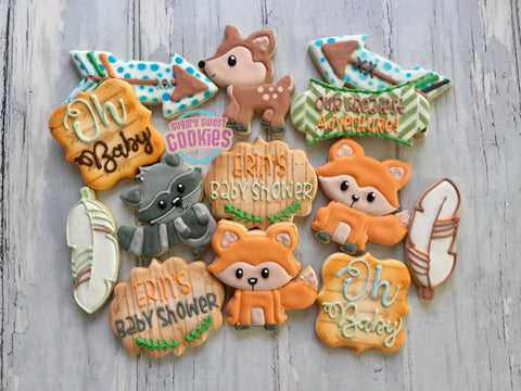 Woodland Creatures! (24 cookies)