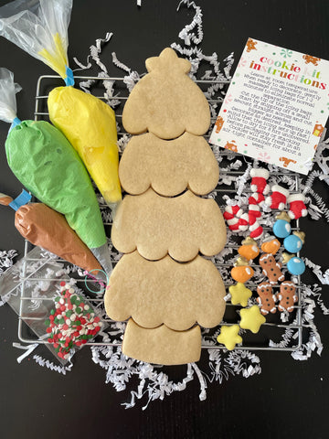 DIY cookie kit- Christmas tree