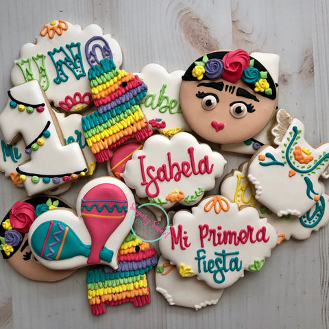 Its Fiesta Time! (24 cookies)
