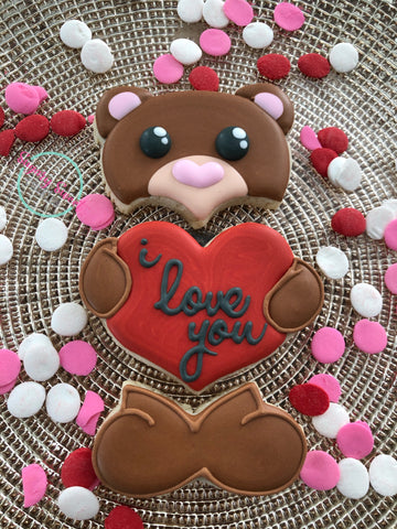 Beginners cookie decorating class. Saturday, February 1st; 2-4pm