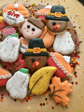 Thanksgiving Minis (24 cookies)