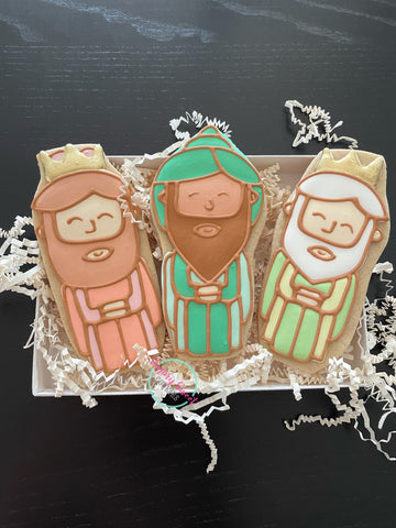 Tres Reyes magos/ three wise men (3 piece set)